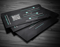 UI Style Business Card Template