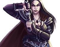 Nyrene Bessieres - Character art Legendary Games