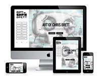Art of Chris Brett Website