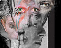 David Bowie Portrait.