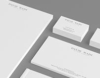 David Wade Fine Art - Identity & Website Design