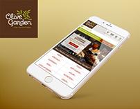 Olive Garden Mobile Site