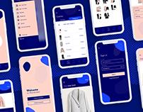 Design-concept for Wardrobe app