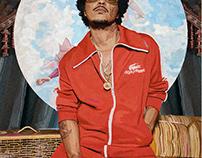 Bruno Mars Digital Painting