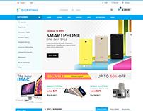 Shopify theme & Magento theme for Electronic #2
