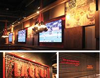 Sports Bar Re-Brand