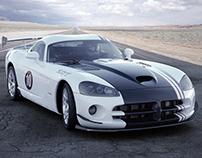 Dodge Viper SRT10 (3d work from 2011)