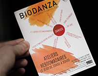 Logo / Flyer / Site Web | Evydanse Bidanza