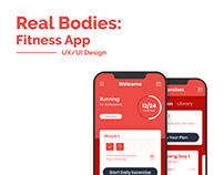 Real Bodies UI Redesign