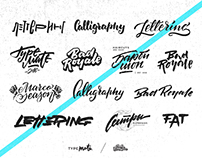 Lettering / calligraphy SKETCHES
