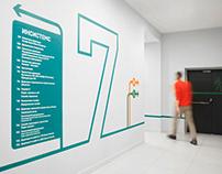 Lanit office signage system