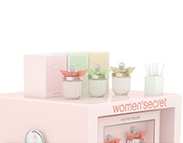 Women'Secret Fragrance Pop Display Design