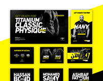 Titanium Classic Physique Championship - Social Media