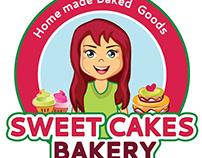 Sweet Cakes Bakery Logo