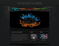 Main page design for Ve
