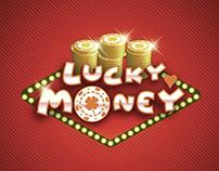 Logo for LuckyMoney online casino