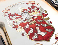 Coat of Arms Painting