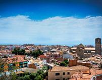 Panoramic view - Malgrat de Mar