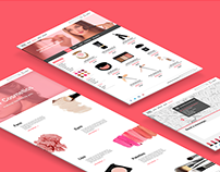 MY Cosmetics | Web Design