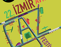 izmir avrupa caz festivali-afiş-2014