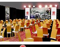 Ghandhara Nissan Dmax Event design