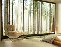 Artist Studio In Nature