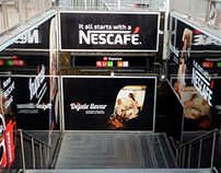 NESCAFÉ: Art Direction
