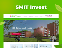 Landing page for SMIT Invest