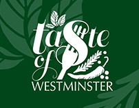 Taste of Westminster Logo Design