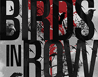 Poster para concierto de Birds In Row