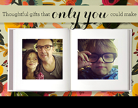 Blurb Gift Books Landing Page