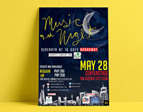 Music of the Night Concert Posters and Tickets