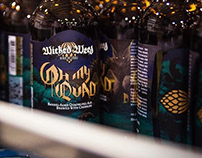 Barrel Aged Belgian Series for Wicked Weed Brewing