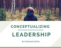 Conceptualizing Leadership