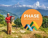 PHASE Worldwide rebrand.
