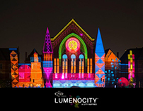 Lumenocity Storyboards for Projection Mapping, Branding