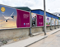 Qatar Airways ✈️ Mogadishu Flights Campaign by Daauus