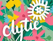 Clytie branding and logo design