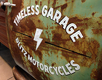 TIMELESS GARAGE x BLITZ MOTORCYCLES