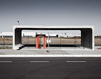Busstop at Solarvalley Thalheim, BHSS Architekten