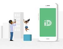 iD mobile illustrations