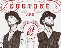 Duotone Illustration