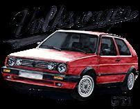 Volkswagen Golf GTI mk1, mk2