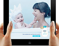 Anúncio interativo Baby Dove - Ipad