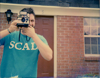 Savannah and SCAD in Polaroids