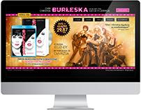 """Strona www """"Burleska"""" - Imperial-Cinepix"""