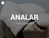 Analar - Textile Company // Website | Photography