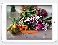 Hortus Florist - Brand Identity and Web