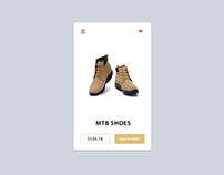 MTB Shoes Mobile App