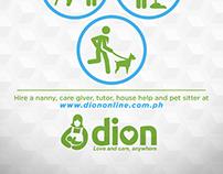 Dion Flyer Design